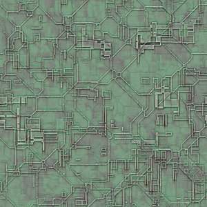 Futuristic Circuit Tile: A tileable circuit background with a futuristic pattern.
