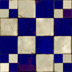 Old Cracked Tiles 2