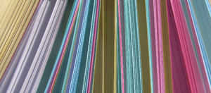 multicoloured cards5: colourful edges of coloured filing record cards