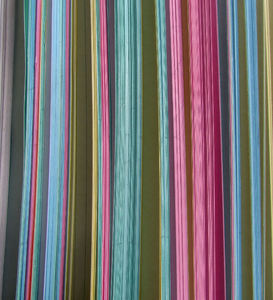 multicoloured cards3: colourful edges of coloured filing record cards