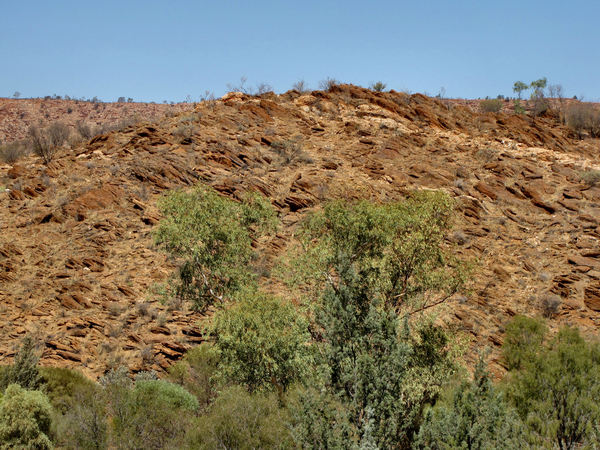 rocky terrain2: rocky terrain on the outskirts of Alice Springs in Central Australia