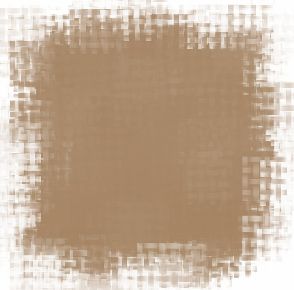 Stained Grunge Background 8: A stained woven grunge background with a border. Useful for paper, parchment, banners, background, texture, fill or element. Beige or sepia and white colours.