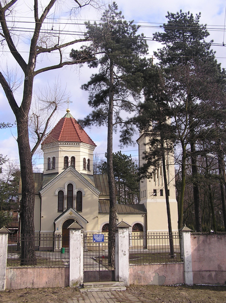 A church in Pruszków