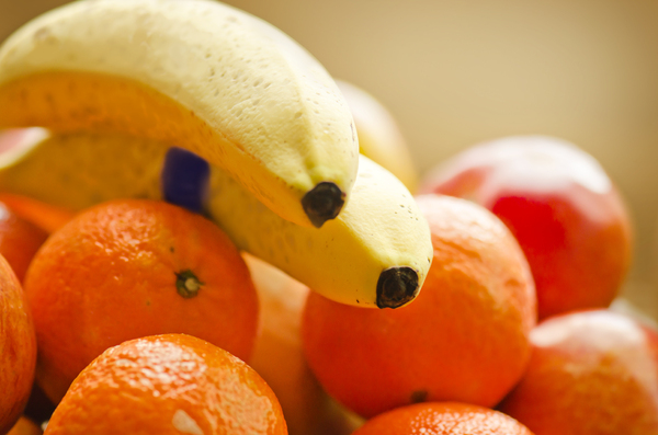 Fruit: Bananas and oranges