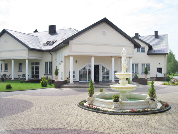 A manor: Jolanta road house in Biała Podlaska