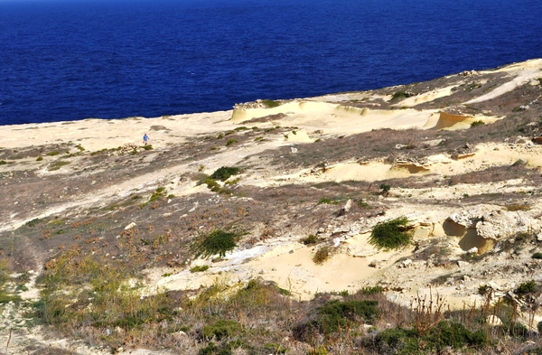 Limestone on Gozo