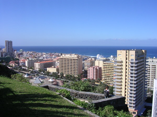 Puerto de La Cruz: View of Puerto de La Cruz