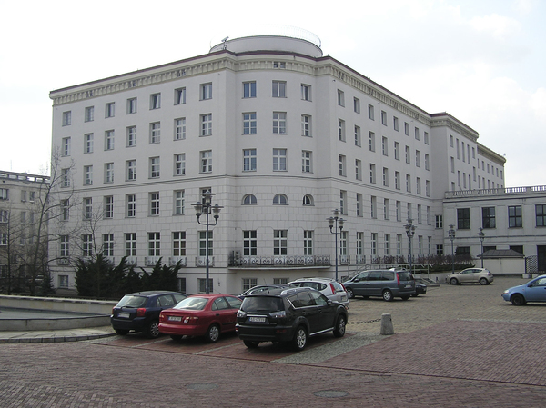 Parliament area building