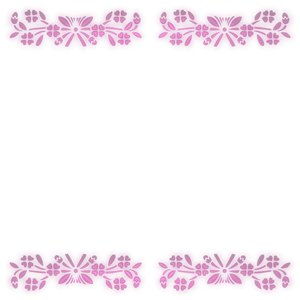Pretty Floral Border 3