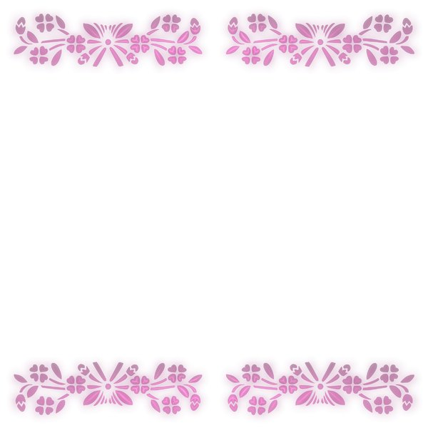 Pretty Floral Border 3: Delicate and pretty floral border or frame on a white background, with a 3d effect. You may prefer thihttp://www.rgbstock.com/photo/2dyWhYD/Scribbly+Border+3s: