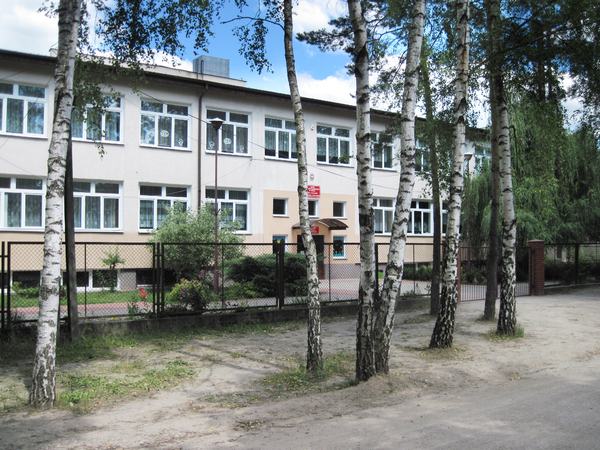 School: A school in Urle, Poland. One of