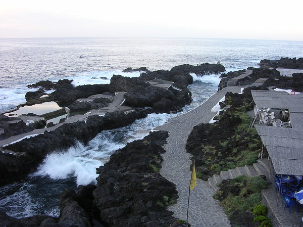 the rocks and the sea: seaside in Tenerife
