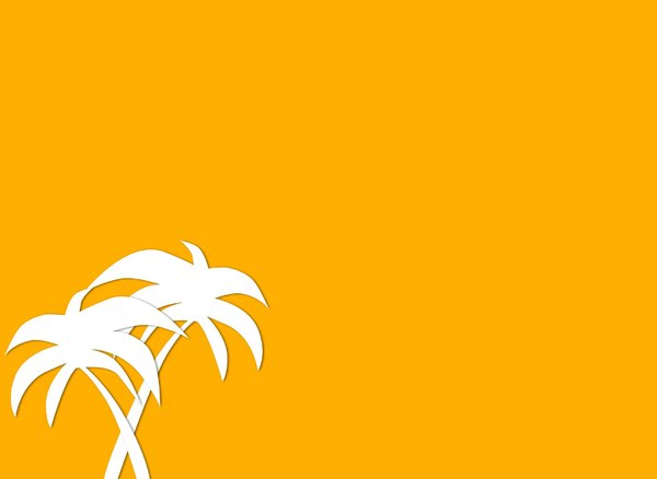 Palm Tree Graphic 2: