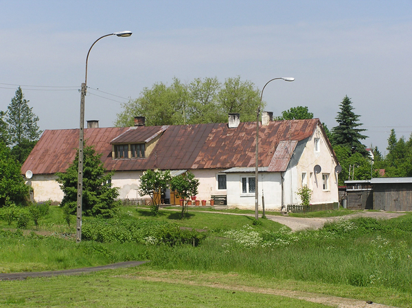 A long house in Sejny
