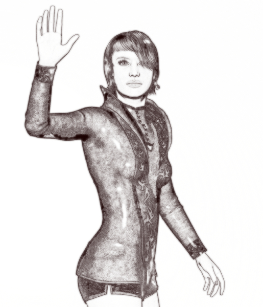 Waving Woman