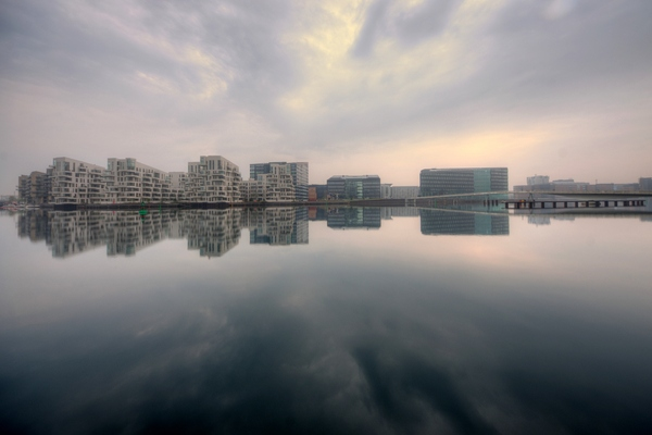 Harbour skyline - HDR