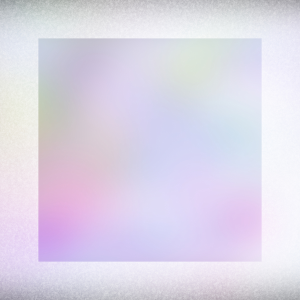 Frosty 4: A frosted background, border or frame in pastel rainbow colours.