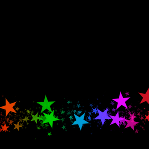 Star Border 3: Blank canvas or paper with a border of stars. Could be used for Christmas or other celebration, as a decorative element for scrapbooking, or for a placard or advertisement.