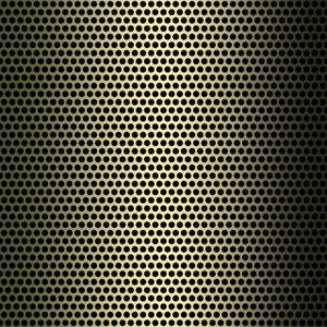 Metallic Grille 6: A closeup of a bronze metal grille. Could be a speaker cover, texture, fill, or background. You may prefer this:  http://www.rgbstock.com/photo/nvzzRVk/Metallic+Grille+2  or this:  http://www.rgbstock.com/photo/nvzAmRy/Metallic+Grille+1