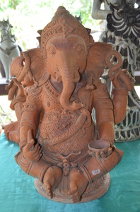 Ganesha: Earthenware