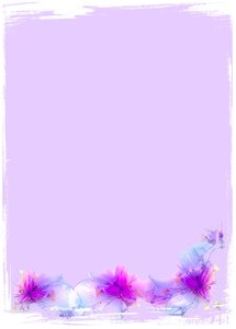 Abstract Fairy Iris Border 3: A grungy floral border or frame of fairy irises on a pink background with a white border. Plenty of copyspace for your input. You may prefer this:  http://www.rgbstock.com/photo/mGnhxWU/Fairy+Iris  or this:  http://www.rgbstock.com/photo/2dyVQ5h/Floral+Bo