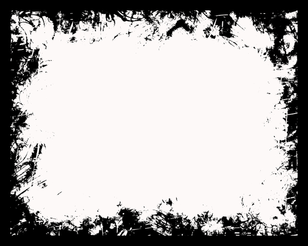 Grungy Black Frame 19: A black grunge frame or mask. Very useful stock image. Plenty of copyspace. Perhaps you would prefer this: http://www.rgbstock.com/photo/nP5QOo2/Grungy+Black+Frame+6 or this: http://www.rgbstock.com/photo/nP5TpGQ/Grungy+Black+Frame+3