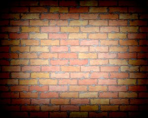 Brick Wall with Vignette 2