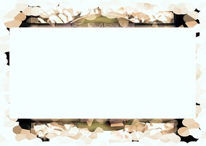 Banner With Grungy Border 2