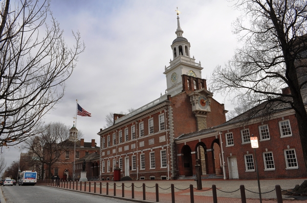 Independence Hall Philadelphia: Independence Hall where declaration of indepence was signed