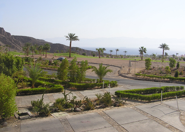 Taba Heights golf area