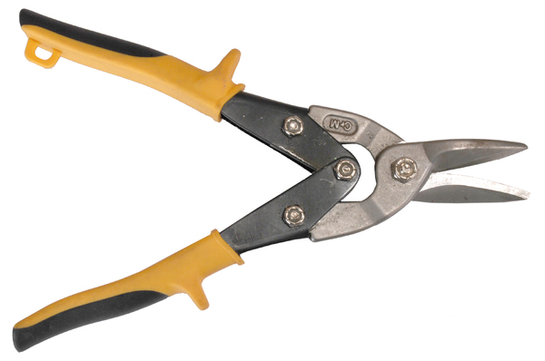 Tin Snips: Isolated picture of tin snips.