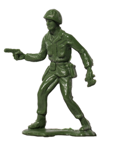 Plastic Army Man 10: Plastic toy soldier
