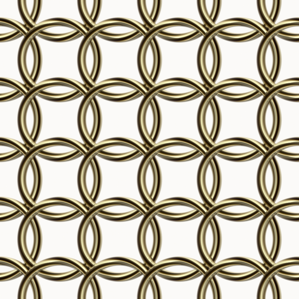 Metallic Loop Tile: A tillable background, texture or fill of golden or bronze metal loops. You may prefer this:  http://www.rgbstock.com/photo/nyBLMhg/Silver+Chain+Tile  or this:  http://www.rgbstock.com/photo/nyBN1zw/Blue+Chain+Background