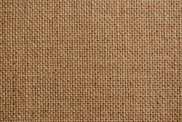 Burlap Background: Close up of burlap texture for background use.