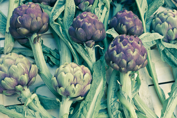 Artichokes 2: Photo of artichokes