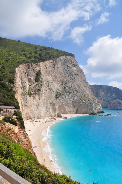 Porto Katsiki 2: Beautiful beach Porto Katsiki, located on a greek island Lefkada