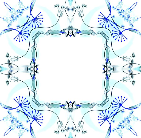 Ornate Floral Frame 5