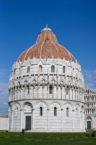 Scene from Pisa in Italy 5