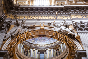 St Peter's Basilica in Rome: Photo of St Peter's Basilica in Rome