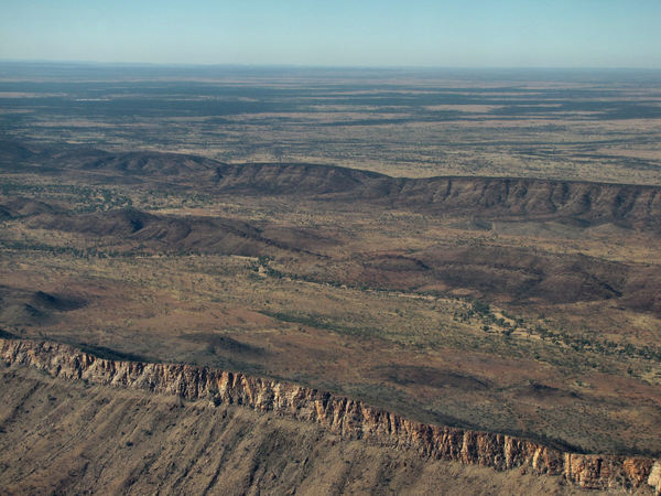 down below16: central Australian terrain seen from above