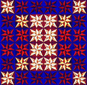 Christmas star mat2: abstract background, texture, patterns and perspectives