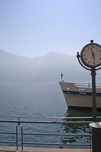 ship in limone - lake garda