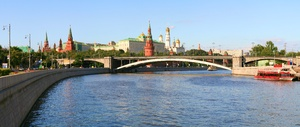 Summer day at Moscow-river