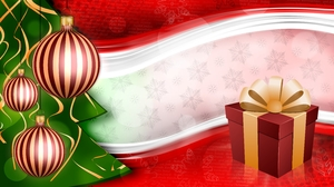 Christmas wishes: The Christmas background to put your wishes there... Please