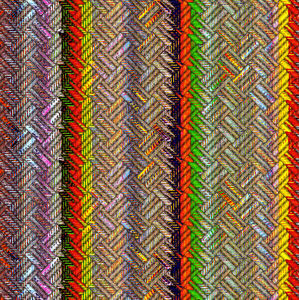 multicolored striped weave1
