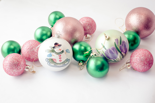 Christmas Baubles 1: Photo of christmas baubles