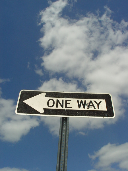 one way 4