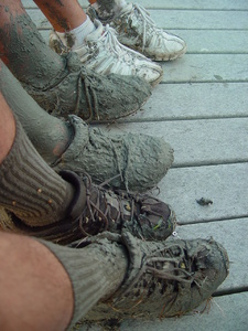 muddy shoes 4