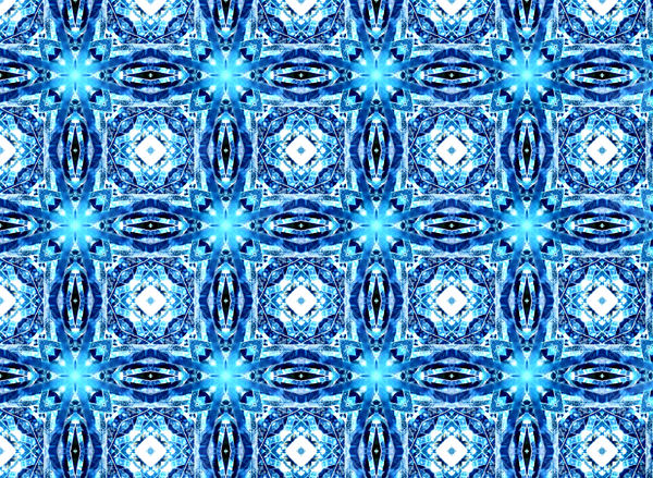 blue tinsel tiles1