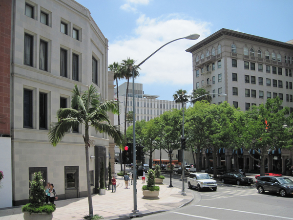 Rodeo Drive area: Rodeo Drive area, Beverly Hills, Los Angeles